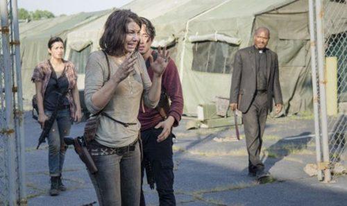 segunda parte de la 5ta temporada de The Walking Dead