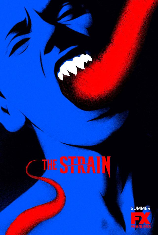 Poster de la segunda temporada de The Strain