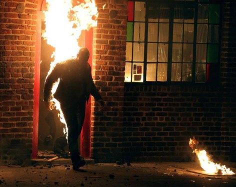 """""""Jessica Jones"""": ¡Desvelada una de las imágenes más impactantes de la serie!"""