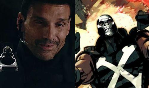 La apariencia de Crossbones en Capitán América: Civil War