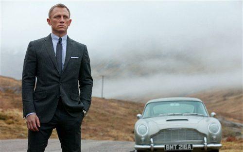 Lo nuevo de James Bond con Daniel Craig