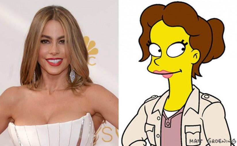 Sofía Vergara será la nueva maestra de Bart Simpson