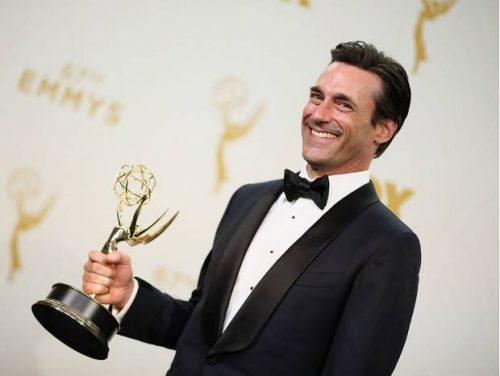 Jon Hamm muy sorprendido por ganar un Emmy