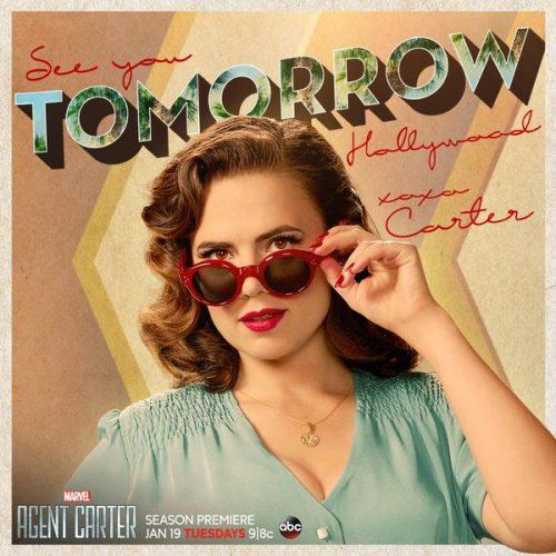"""""""Agent Carter"""": ¡Una nueva imagen promocional impacta en las redes sociales!"""