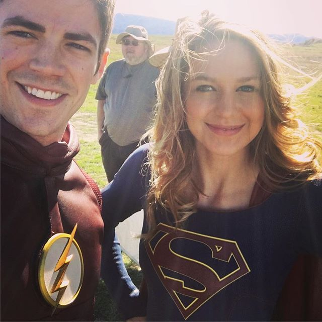 """The Flash"": ¡Primera imagen del crossover que tendrá con ""Supergirl""!"