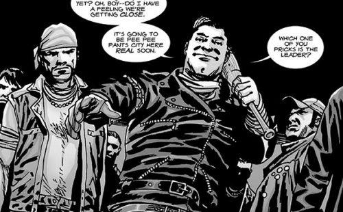 """""""The Walking Dead"""": ¡Furor ante la llegada de Negan!"""