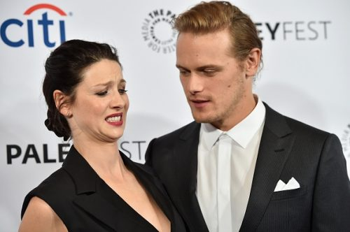 """¡Los protagonistas de la serie """"Outlander"""" desmienten su relación!"""