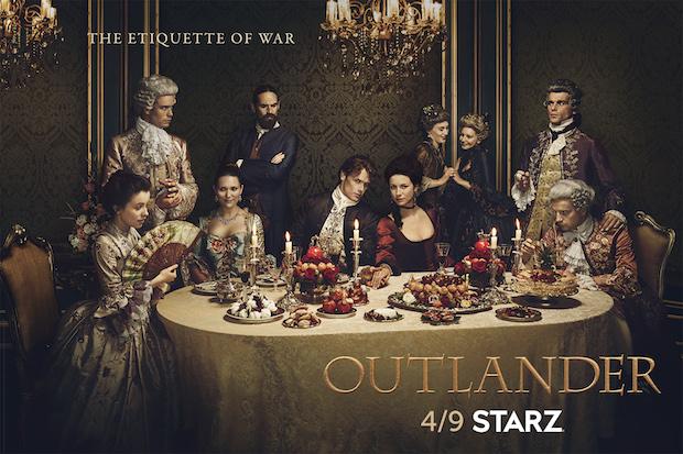 La tercera temporada de Outlander podría estrenarse antes
