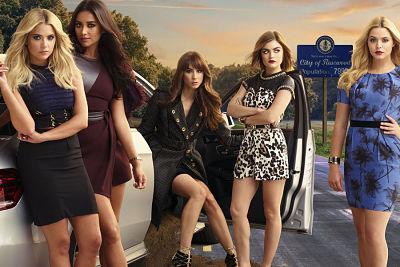 Poster de la séptima temporada de Pretty Little Liars