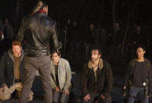 The Walking Dead graba todas las muertes de Negan para evitar spoilers