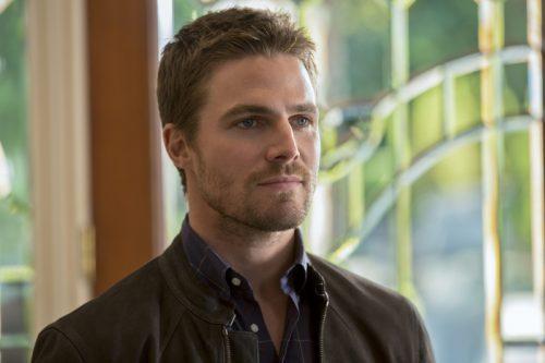 Fotos de Stephen Amell para la quinta temporada de Arrow