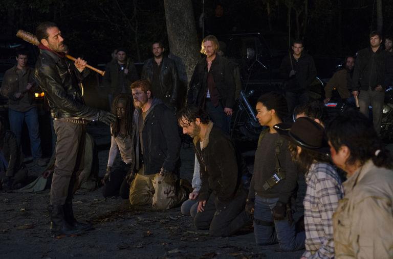 Fotos del estreno y de detrás de las cámaras del 7x01 de The Walking Dead