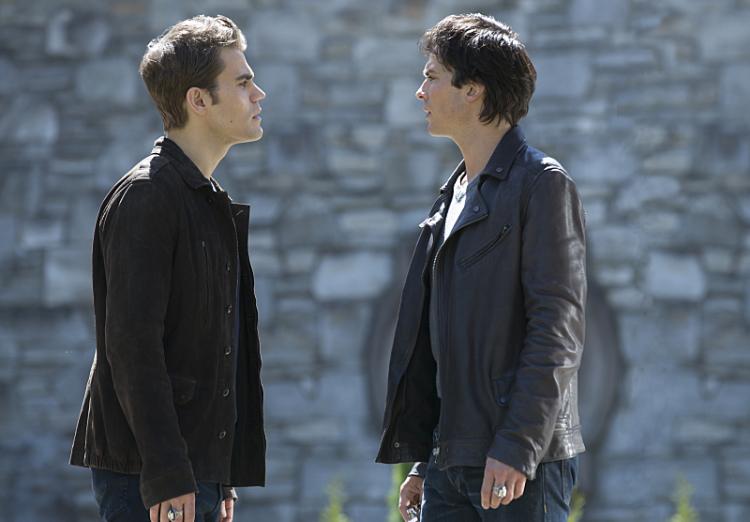 Póster de la octava temporada de The Vampire Diaries con spoiler
