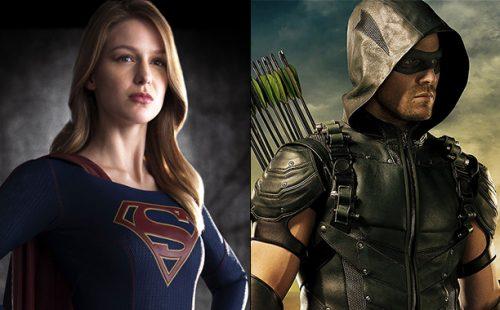 Primera imagen de Arrow y Supergirl juntos para el gran crossover