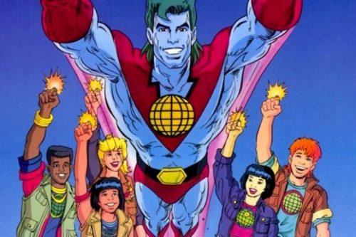"""La serie """"Capitan Planeta"""" podría llevarse a la pantalla grande definitivamente"""