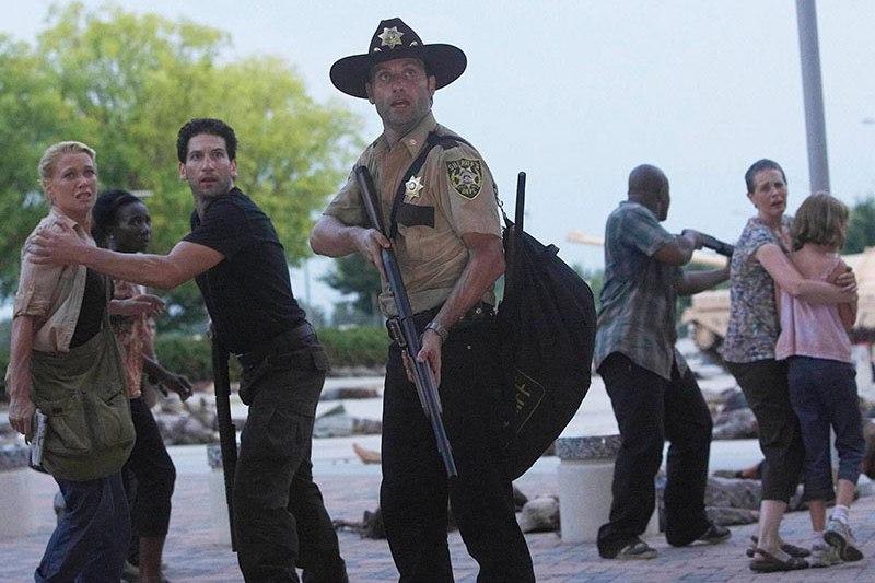 The Walking Dead la referencia que tiene el capítulo 7x01 con la primera temporada