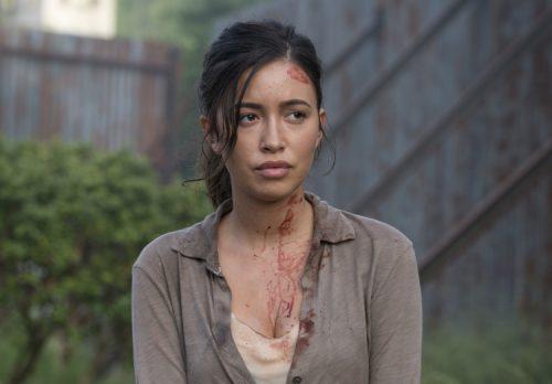 Christian Serratos espera una gran muerte en The Walking Dead