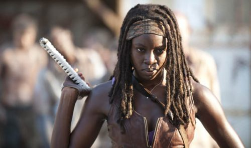 Danai Gurira habla de Rick y Michonne en The Walking Dead