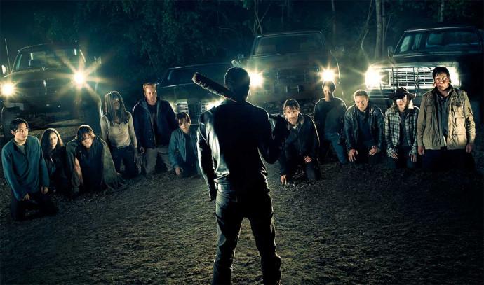 Imágenes de cómo se hizo la muerte de un personaje de The Walking Dead