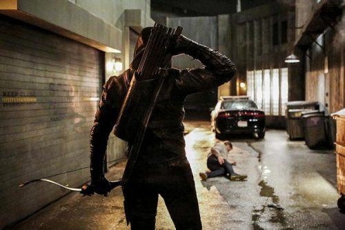 Nuevas fotos de Arrow con Dolph Lundrgren