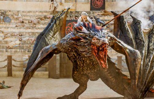 Novedades de los dragones de Game of Thrones