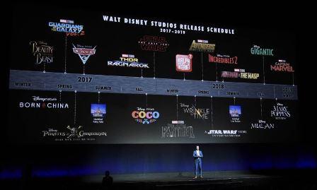 Fechas de estreno de las películas de Disney de 2017 hasta 2020
