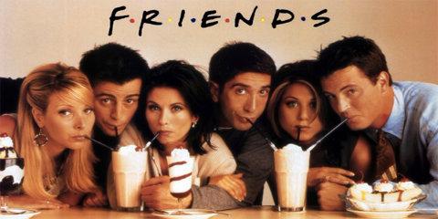 Friends es una de las series más vista por los españoles en Netflix