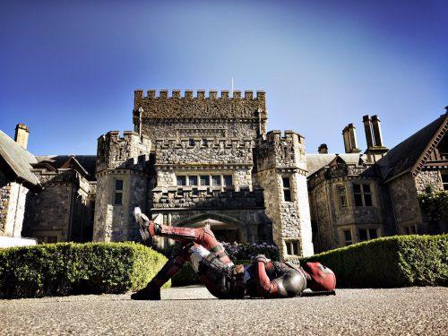 Ryan Reynolds celebra el inicio del rodaje de Deadpool 2 con una divertida imagen