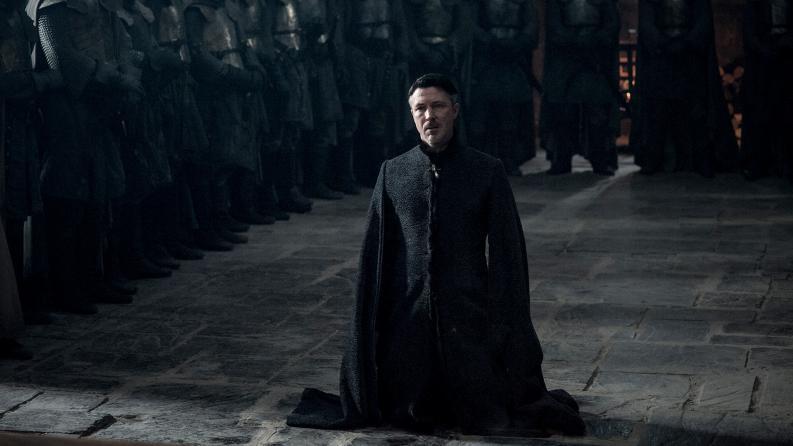 Petyr Baelish muerte imagen