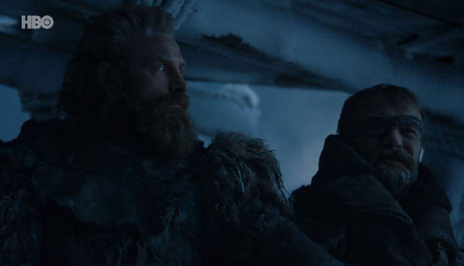 Que pasó con Tormund y Beric Dondarrion en Juego de Tronos 7x07
