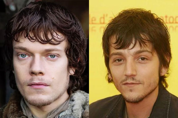 Diego Luna Theon Greyjoy