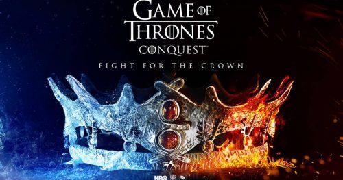 Juego de Tronos se prepara para el lanzamiento de Game of Thrones Conquest.