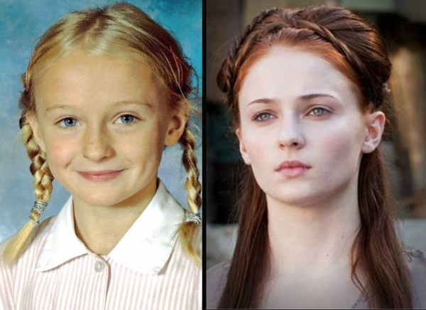 Sophie Turner y Sansa Stark