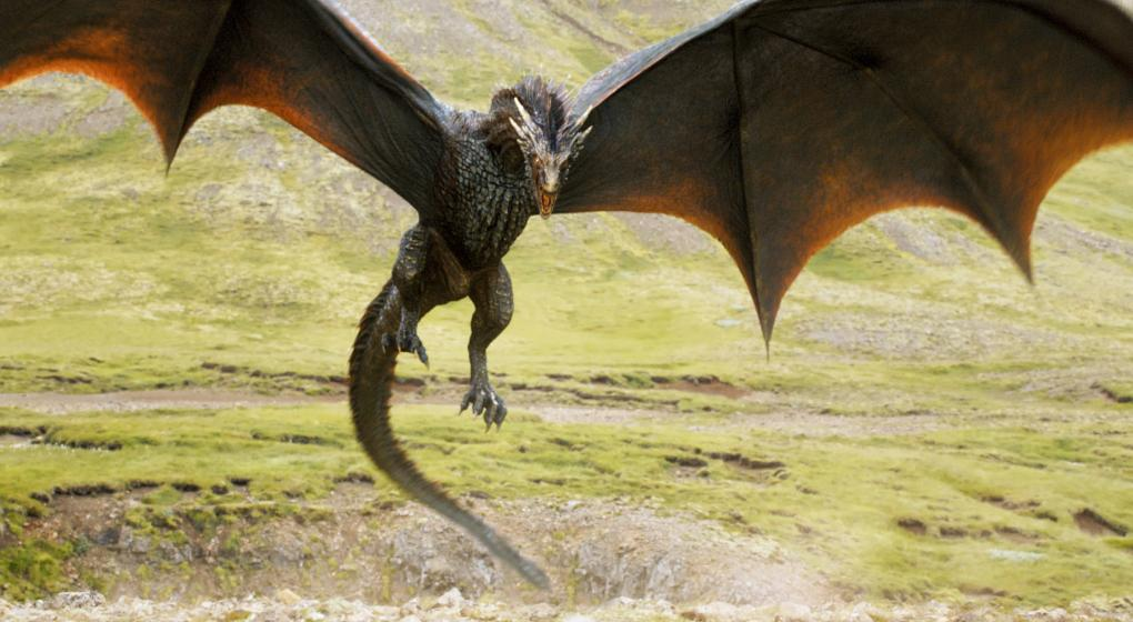 dragon volando