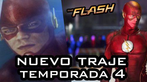 Nuevas fotos de The Flash Temporada 4, presentan nuevo traje de Barry