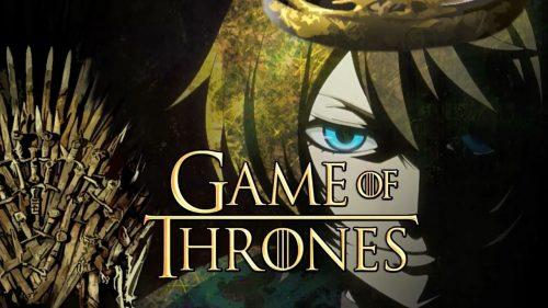 Game of Thrones en versión anime