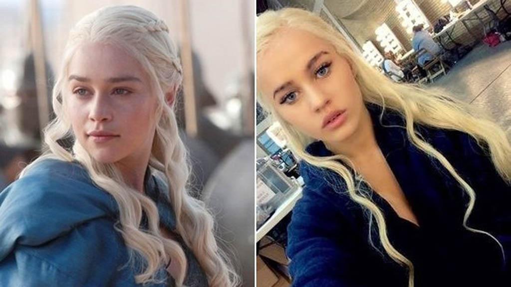 doble de Daenerys Targaryen