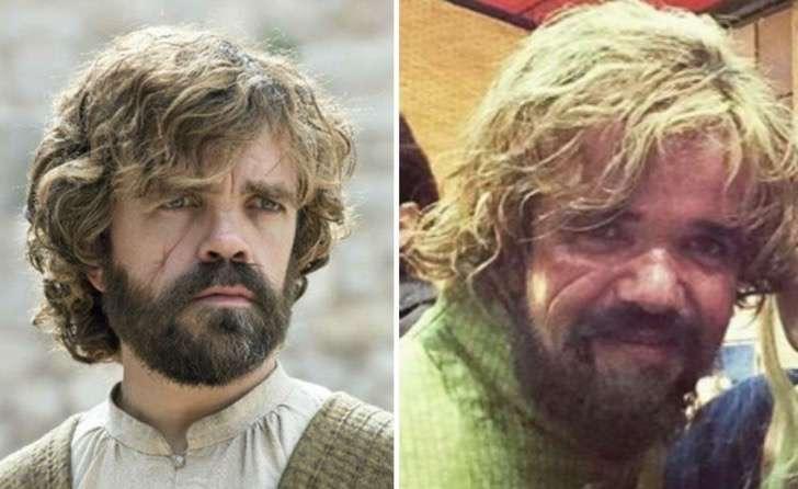 Tyrion Lannister doble
