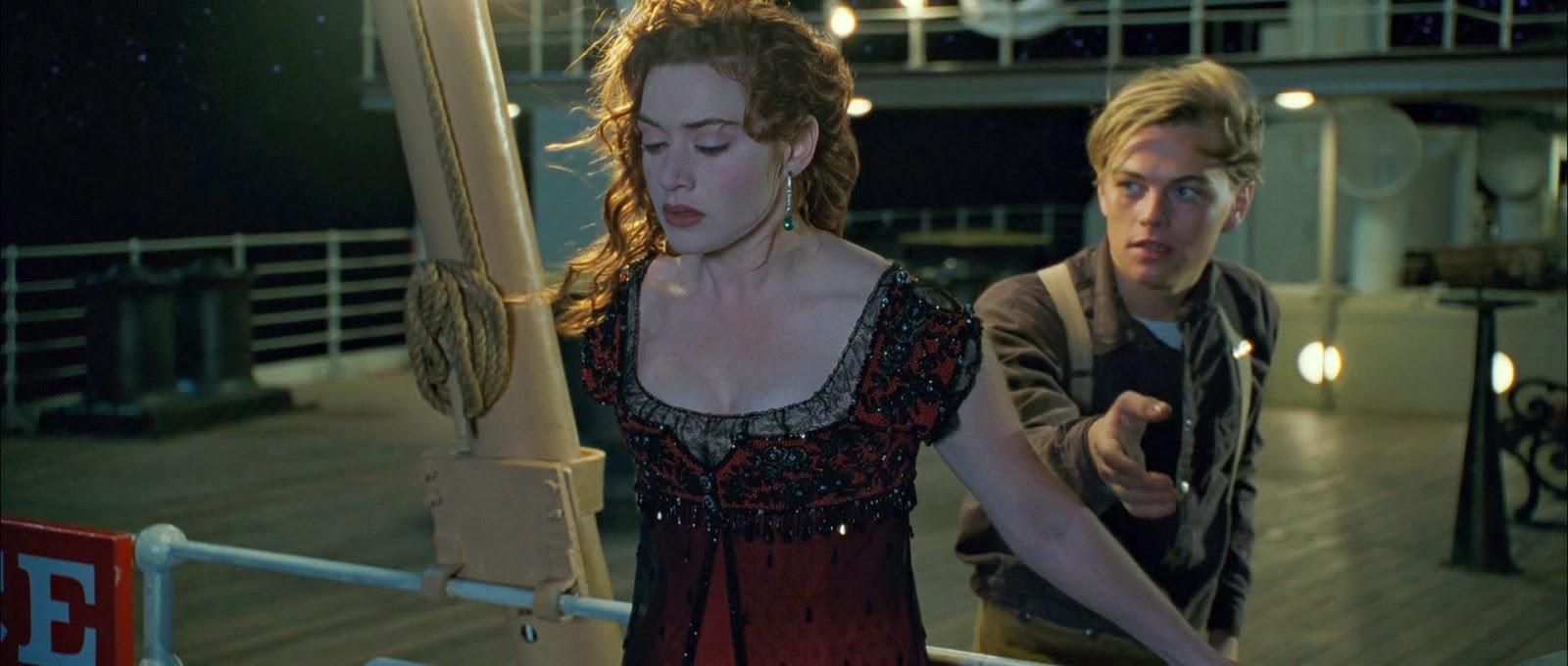 Rose quiere saltar titanic